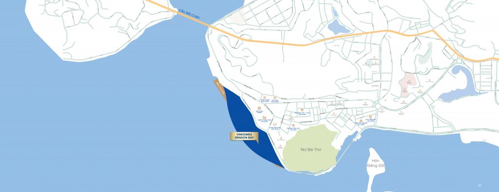 Vị trí Dragon Bay Hạ Long