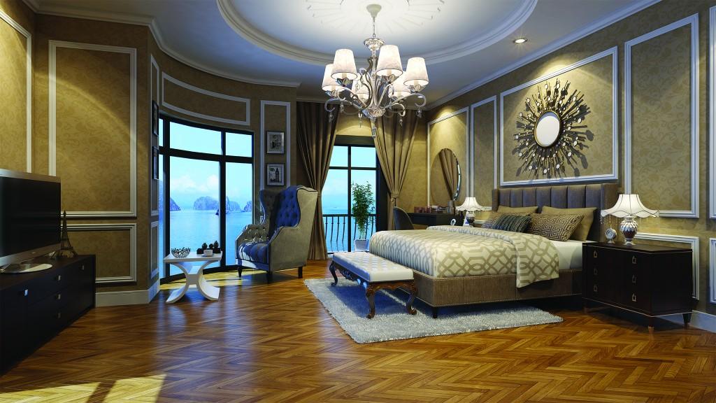 Thiết kế mẫu phòng ngủ Vinhomes Dragon Bay Hạ Long