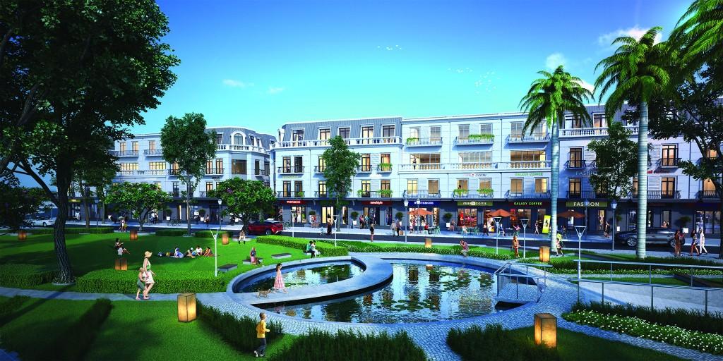 Nhà phố thương mại Vinhomes Dragon Bay Hạ Long