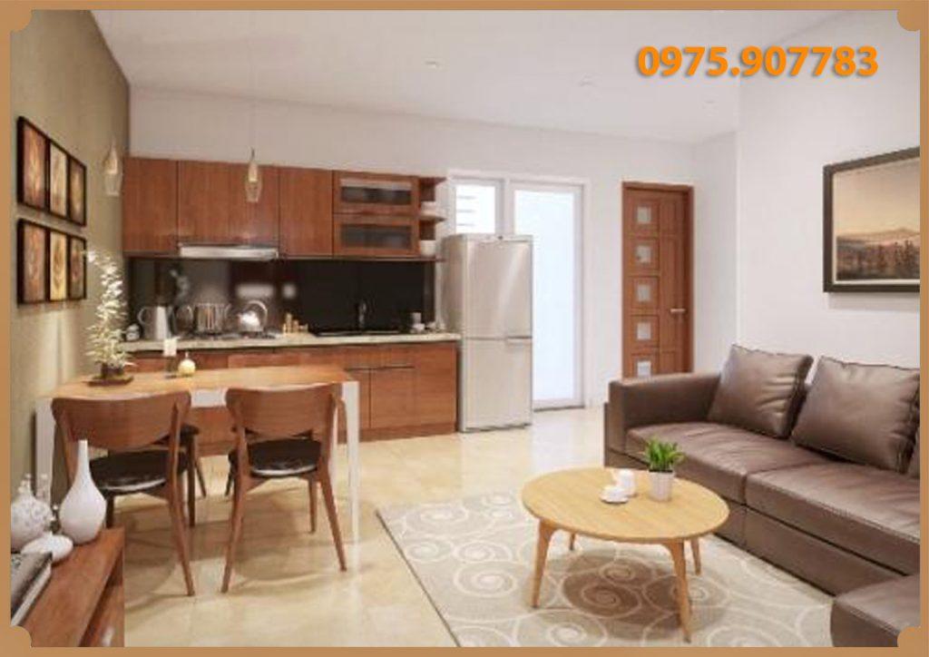 Thiết kế mẫu căn hộ chung cư Ruby City 2 Long Biên