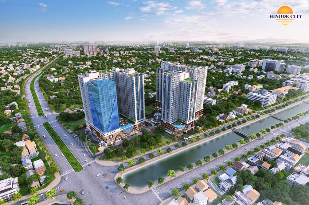 Chung cư Hinode City 201 Minh Khai - phối cảnh 1