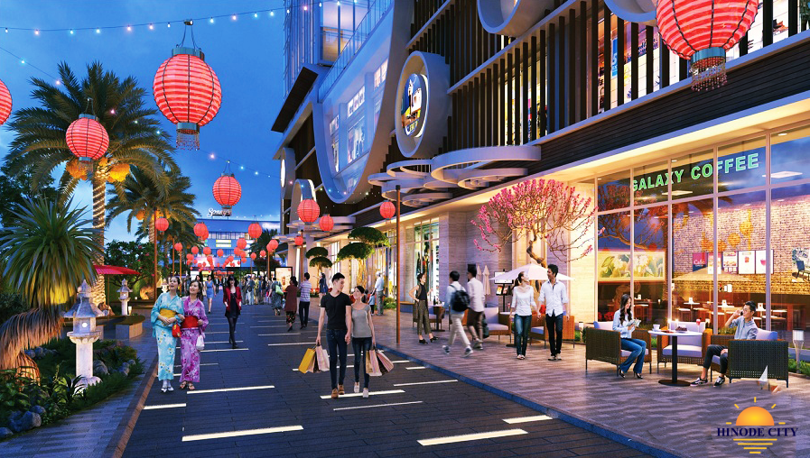 Chung cư Hinode City 201 Minh Khai - phố đèn lồng