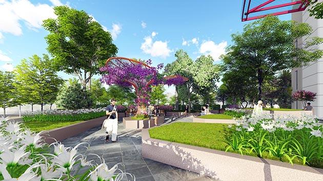 Imperial Plaza 360 Giải Phóng - Đường dạo bộ