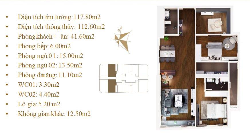 Imperial Plaza 360 Giải Phóng - Mặt bằng căn hộ 02-11 P1
