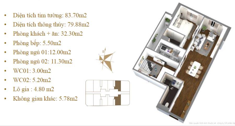 Imperial Plaza 360 Giải Phóng - Mặt bằng căn hộ 05-08 P1