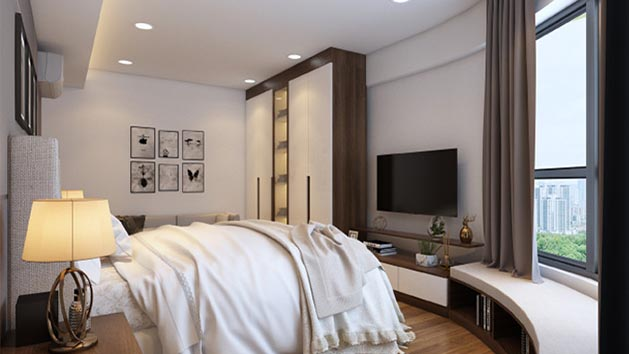 Imperial Plaza 360 Giải Phóng - Phòng ngủ master 1