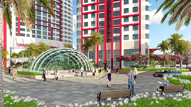 Imperial Plaza 360 Giải Phóng - Sảnh thương mại