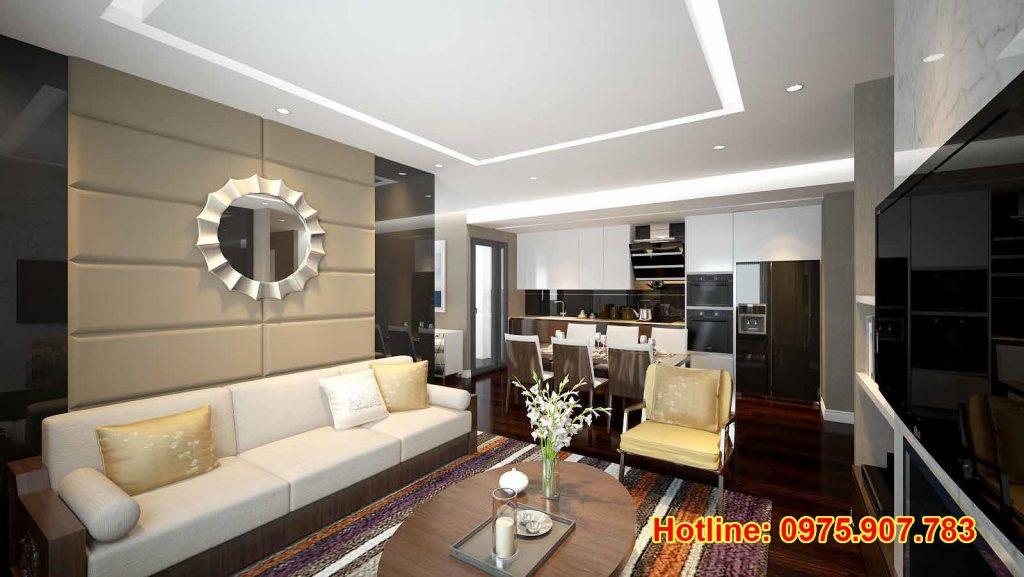 Hồng Hà Eco City - Căn hộ mẫu 1