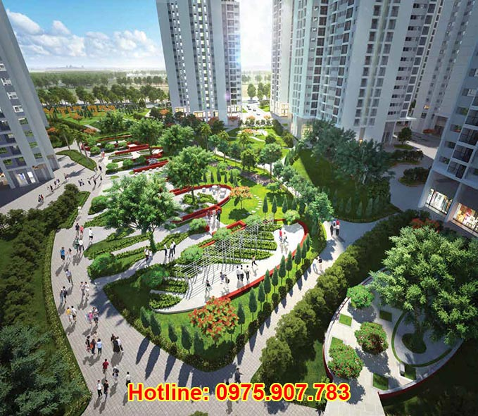 Khong gian Hong Ha Eco City