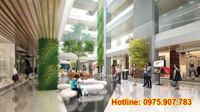 Hong Ha Eco City - trung tâm thương mại