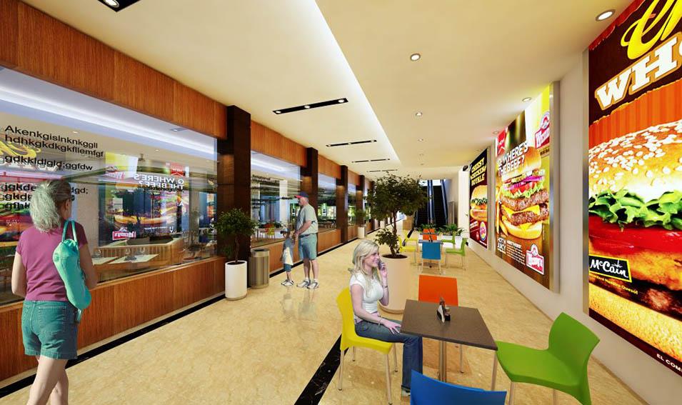 Chung cư Gold Tower 275 Nguyễn Trãi - nhà hàng