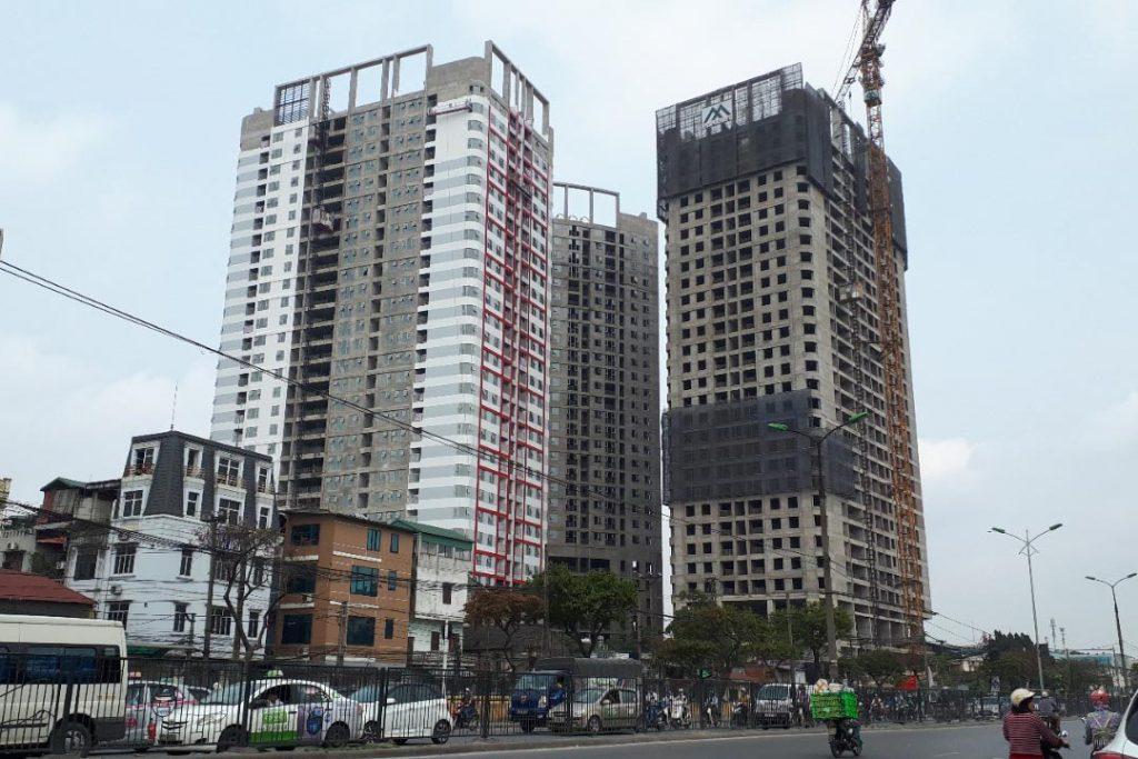 tiến độ imperial plaza 360 giải phóng tháng 4