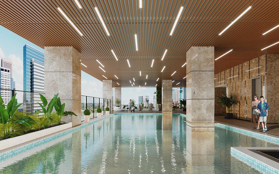 Bohemia Residence - bể bơi