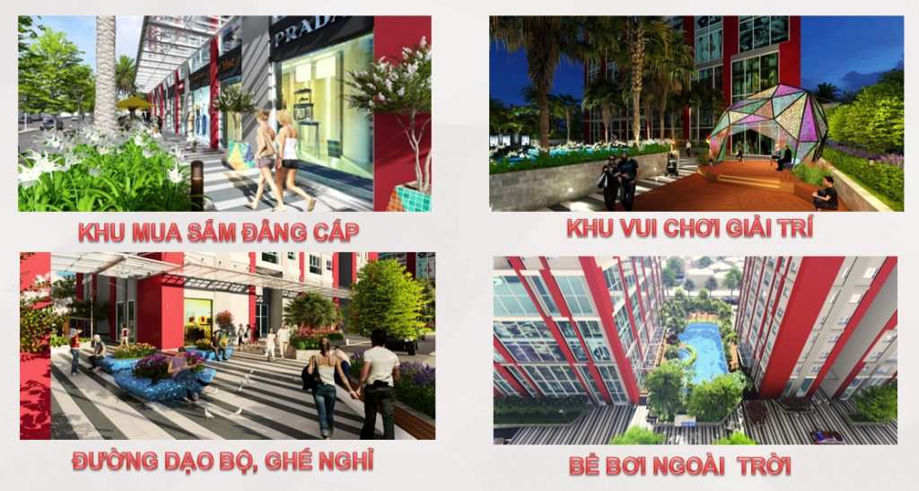 Hà Nội Paragon - tiện ích nội khu