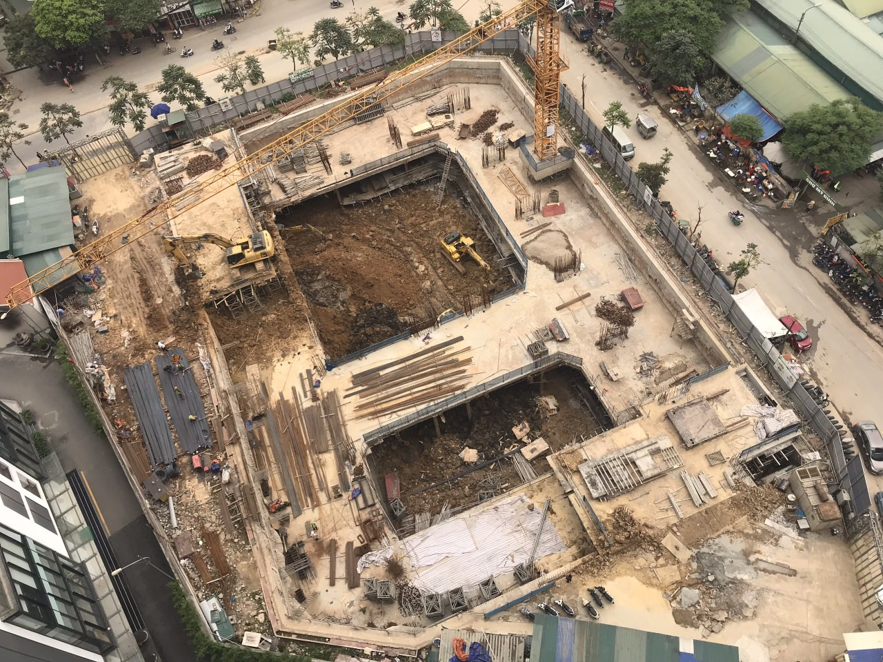 Tiến độ xây dựng dự án an bình plaza mỹ đình