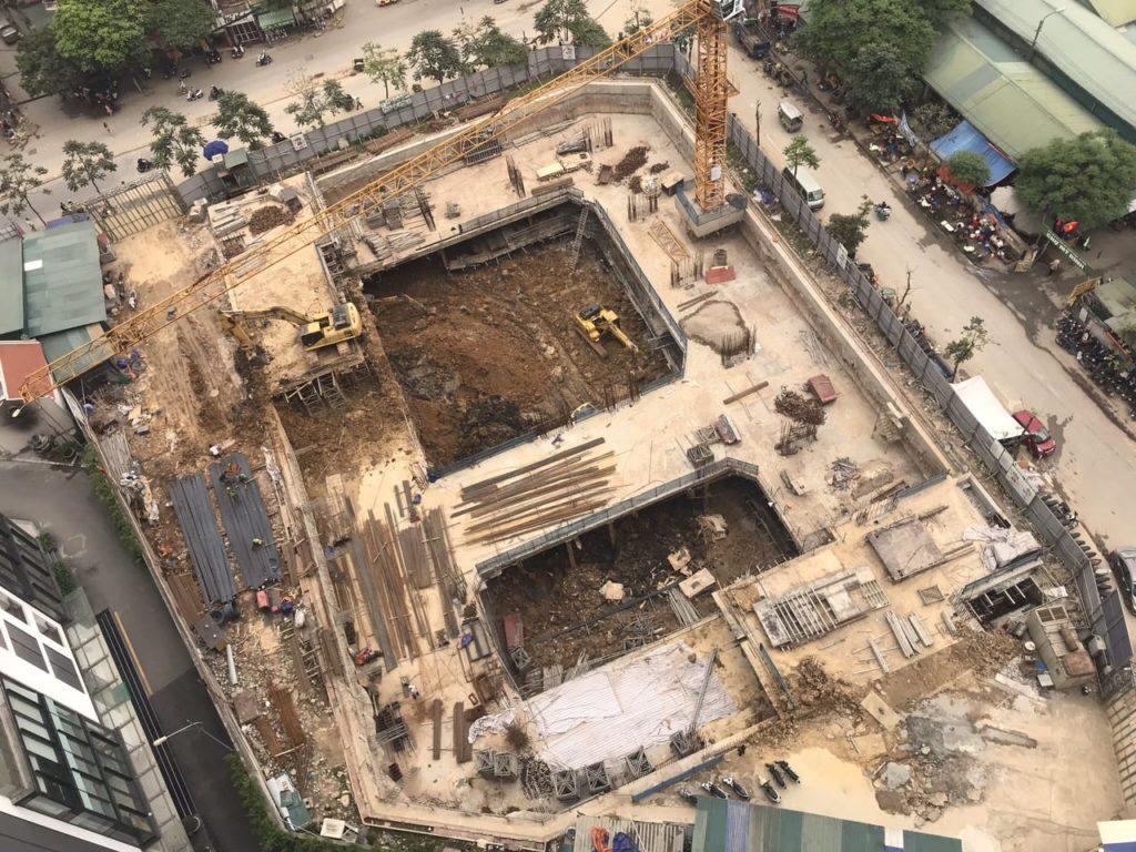 An Bình Plaza tiến độ thi công 3-2019