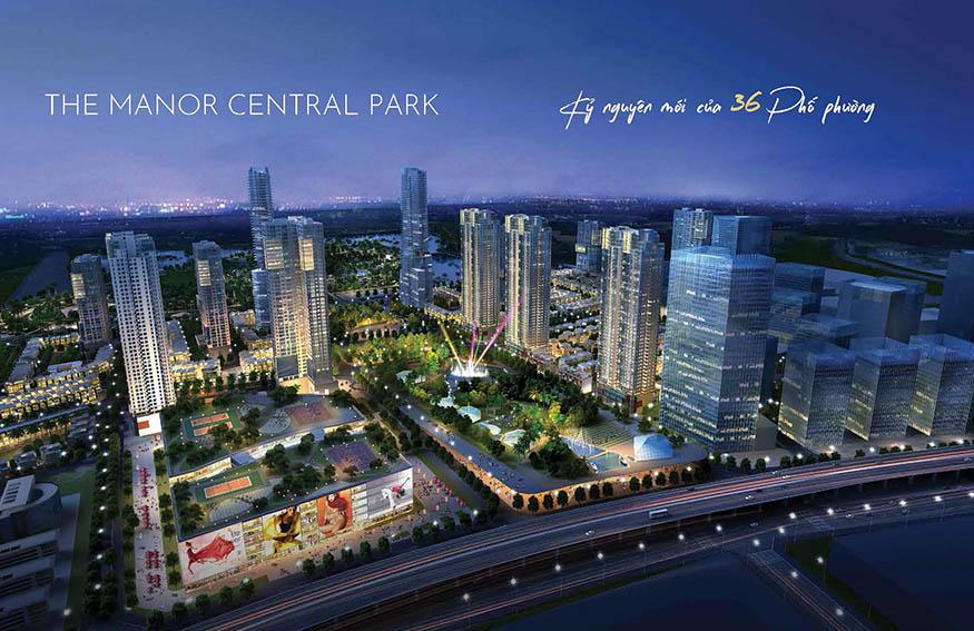 The Manor Central Park - Kỷ nguyên mới của 36 phố phường