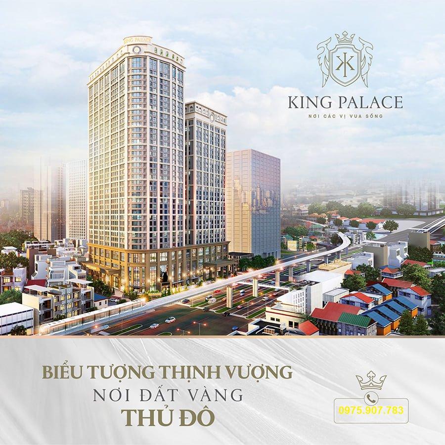 phối cảnh King Palace