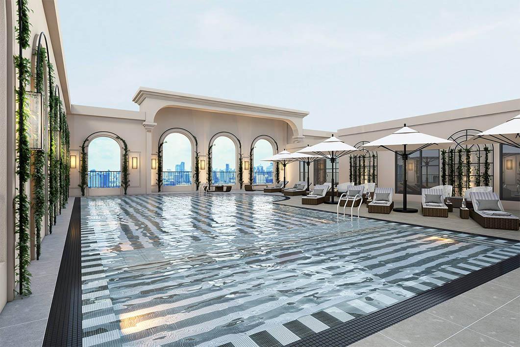 bể bơi King Palace