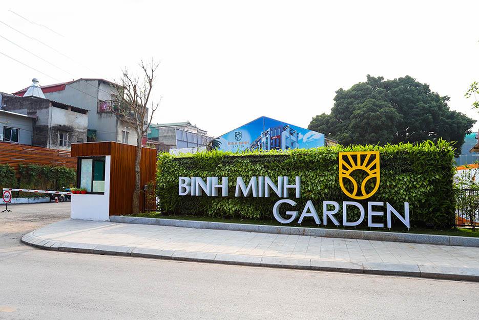 Tiến độ thực tế Bình Minh Garden 1