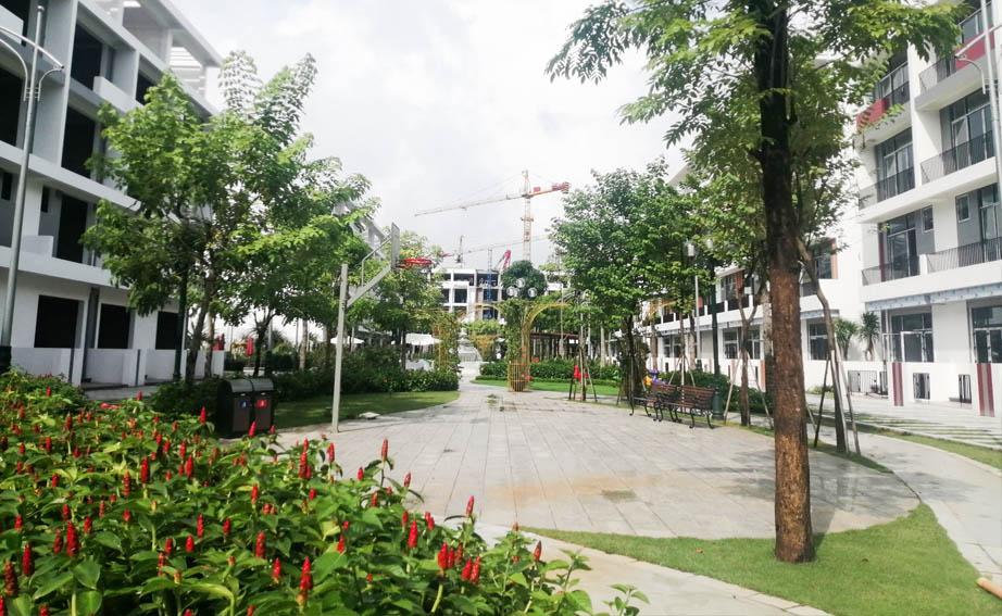 công viên trung tâm Bình Minh Garden 2