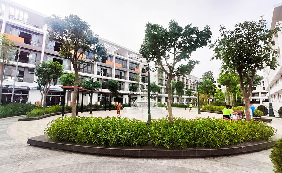 công viên trung tâm Bình Minh Garden