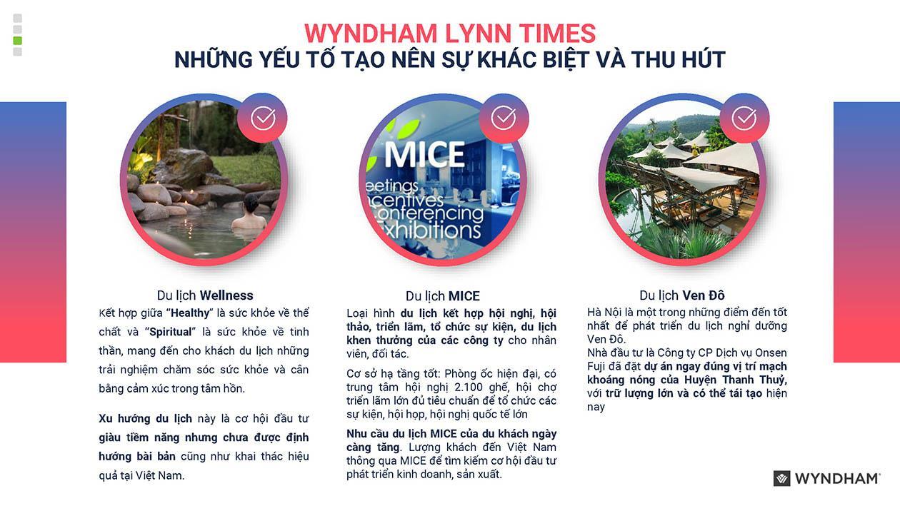 Wyndham Lynn Times Thanh Thủy yếu tố tạo nên sự khác biệt