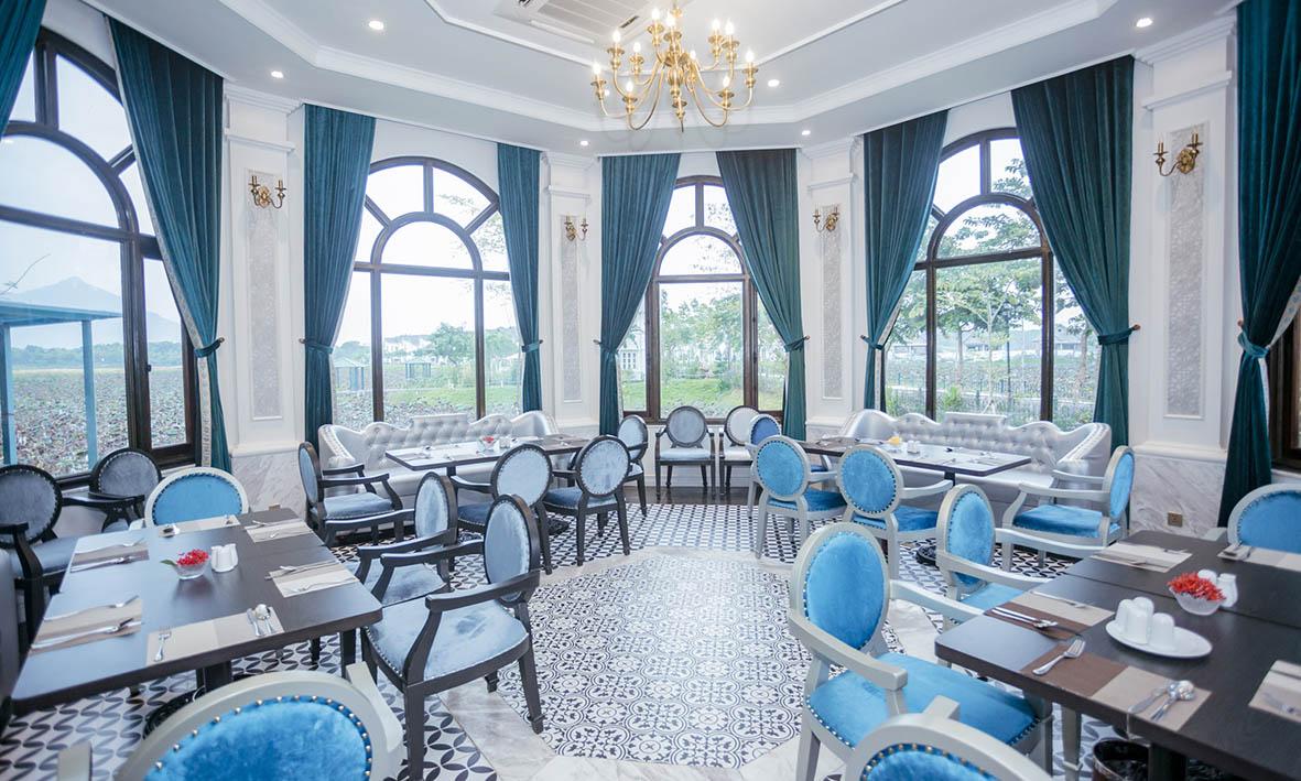 vườn vua resort - nhà hàng châu âu