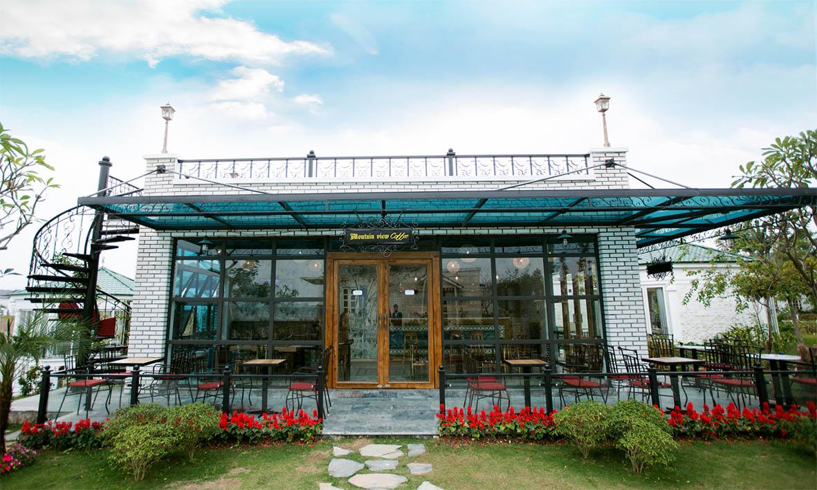 vườn vua resort - cà phê moutain view