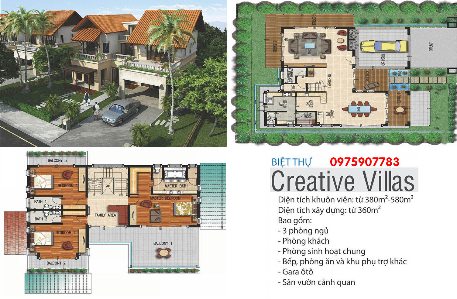 Xanh Villas - biệt thự Creative