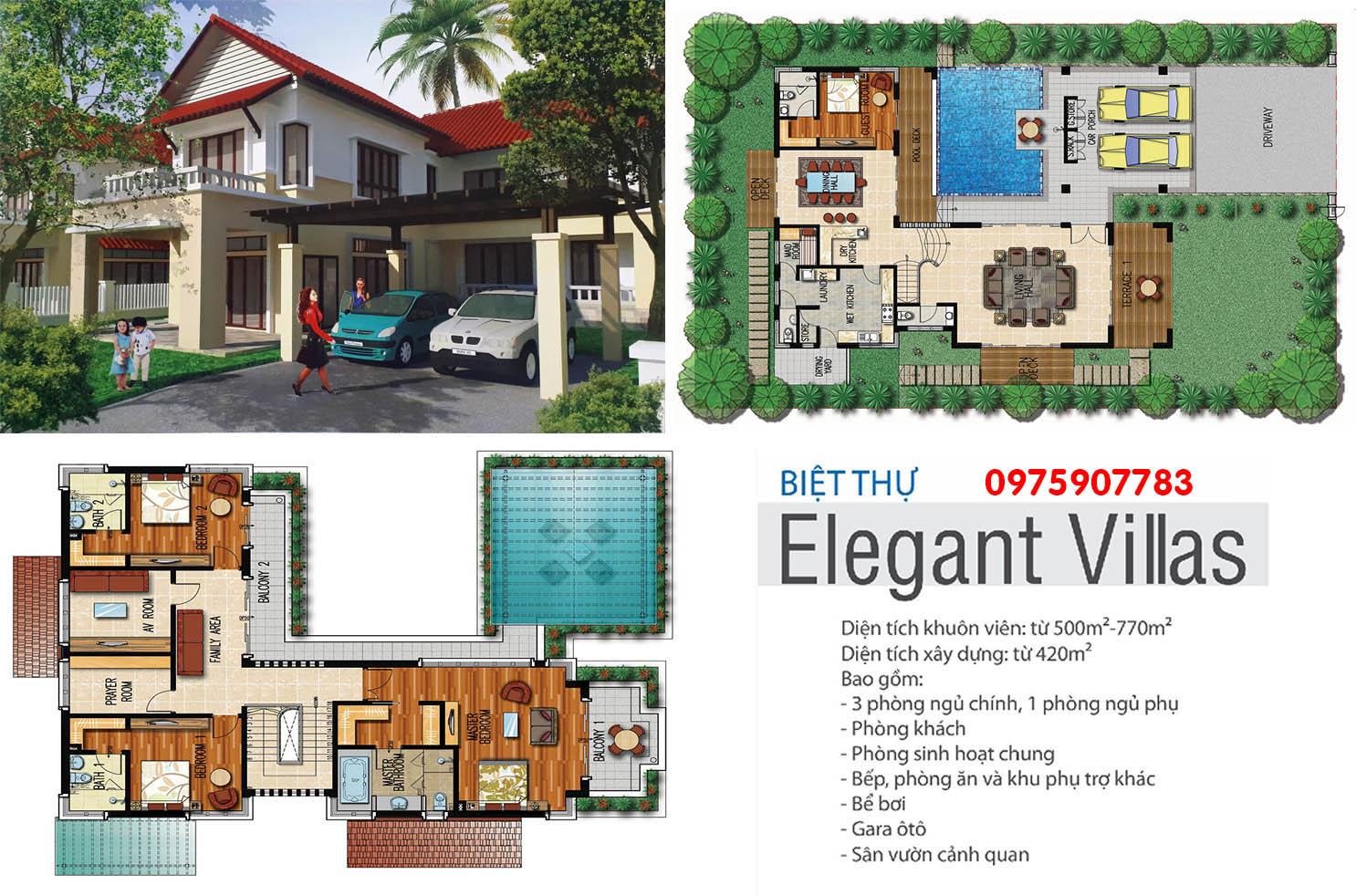 Xanh Villas - biệt thự Elegant