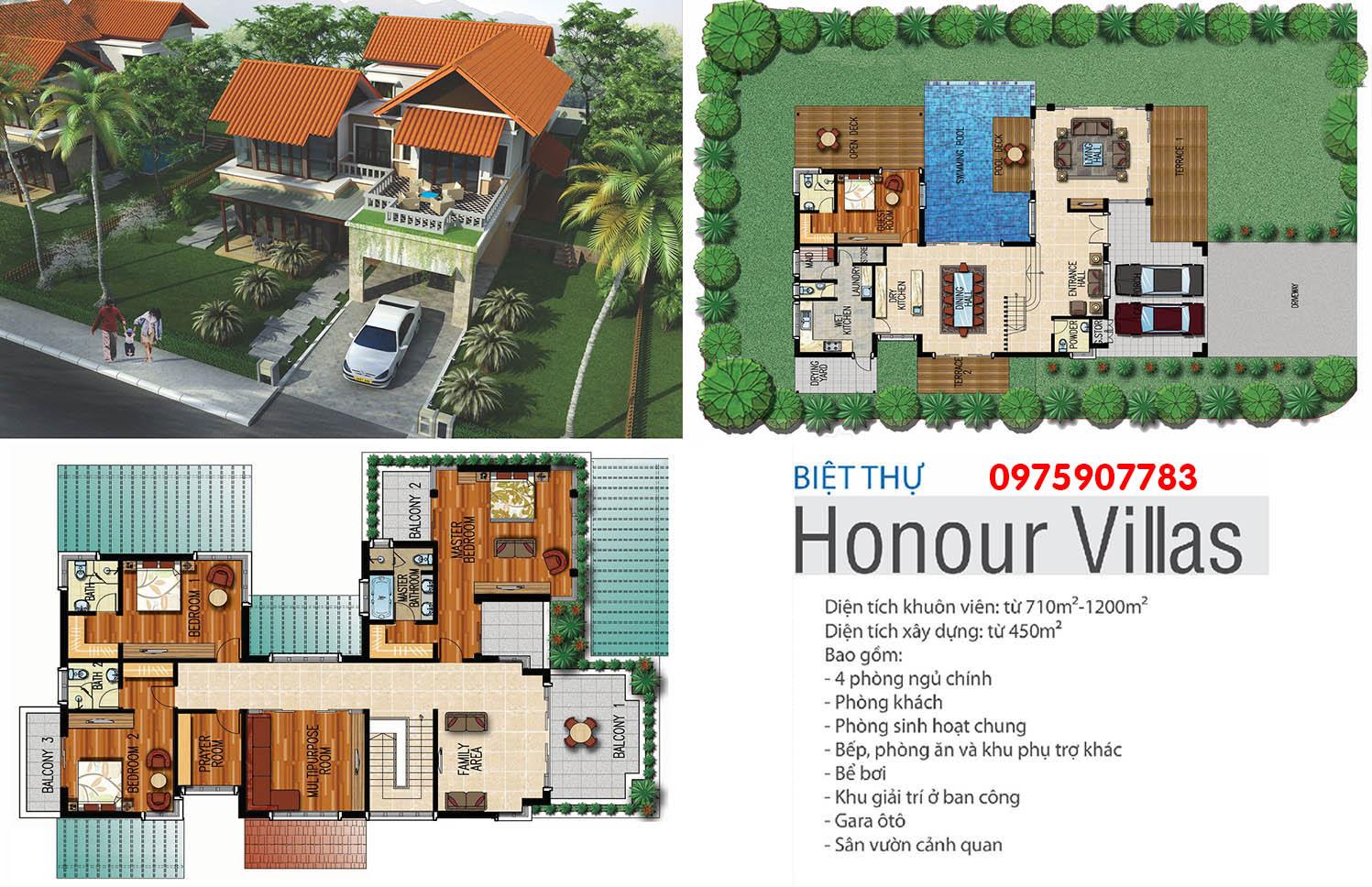 Xanh Villas - biệt thự Honour